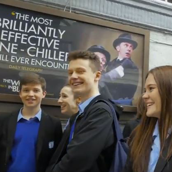 Teachers and pupils give their verdict on seeing the Live stage show at the Fortune Theatre in London's West End.